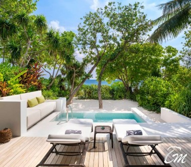 The Westin Maldives Miriandhoo Resort Beach Villa Pool