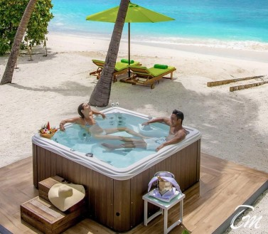 Jacuzzi Beach Villa - Emerald Maldives Resort And Spa