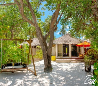 Beach Front Villa exterior - Angsana Ihuru Maldives