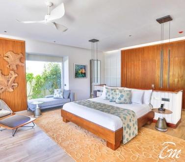 Beach Villa Inner View - Emerald Maldives Resort And Spa