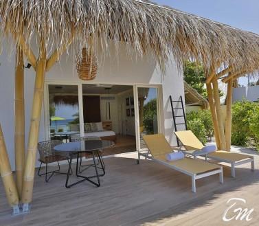 Beach Villa Front View - Emerald Maldives Resort And Spa