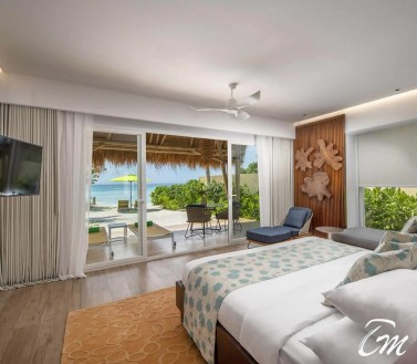 Beach Villa Ocean View - Emerald Maldives Resort And Spa