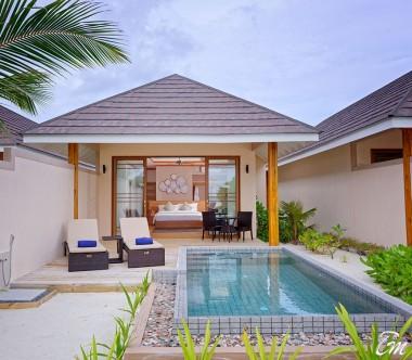 Brennia Kottefaru Maldives Beach Pool Villa Exterior View