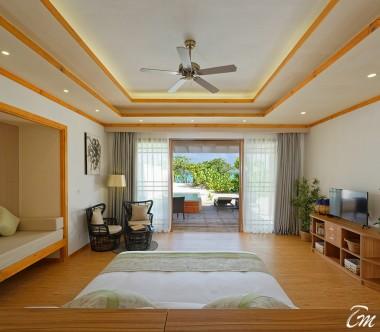 Brennia Kottefaru Maldives Deluxe Beach Pool Villa Interior
