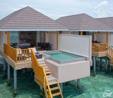 Brennia Kottefaru Maldives Water Pool Villa Exterior View
