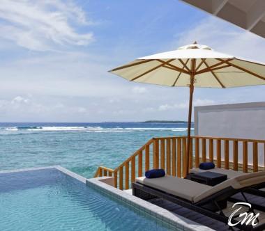 Brennia Kottefaru Maldives Deluxe Water Pool Villa Deck
