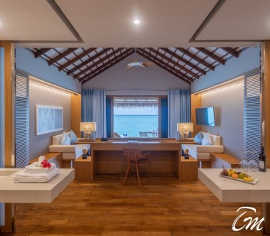 Cinnamon Velifushi Maldives Water Bungalow  Ocean Face
