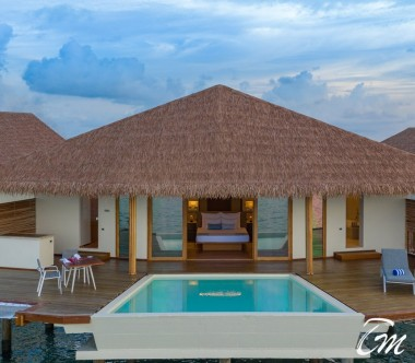 Cinnamon Velifushi Maldives Water Suite With Pool Exterior