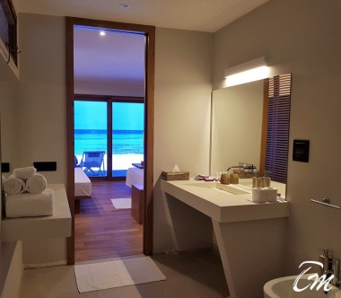 Luxury Beach Bunglaw Bathroom- Cinnamon Velifushi Maldives
