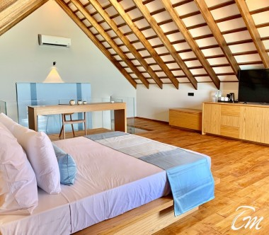 Superior Beach Loft  Interior - Cinnamon Velifushi Maldives