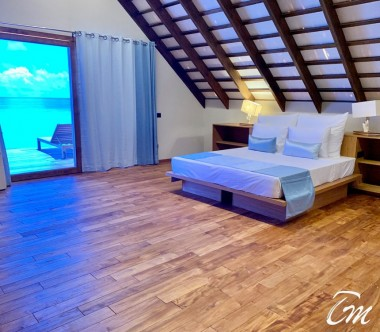 Cinnamon Velifushi Maldives Superior Beach Loft Interior