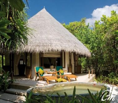 Coco Palm Dhuni Kolhu Maldives Deluxe Villa Exterior
