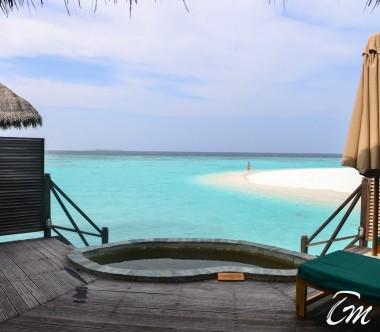 Coco Palm Dhuni Kolhu Maldives Lagoon Villa Deck