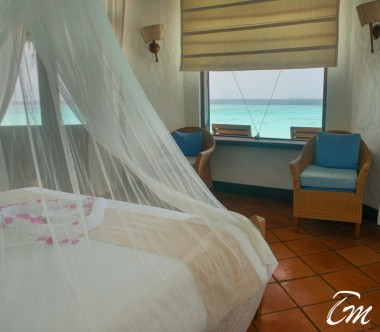 Coco Palm Dhuni Kolhu Maldives Ocean Front Villa Bedroom