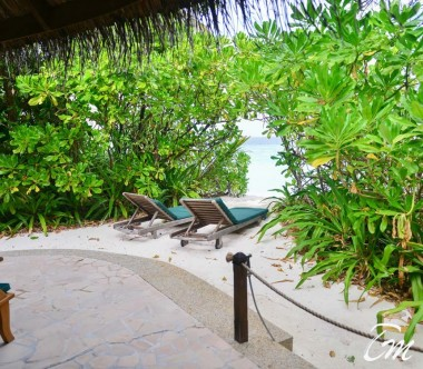 Coco Palm Dhuni Kolhu Maldives Sunset Beach Villa Beach View