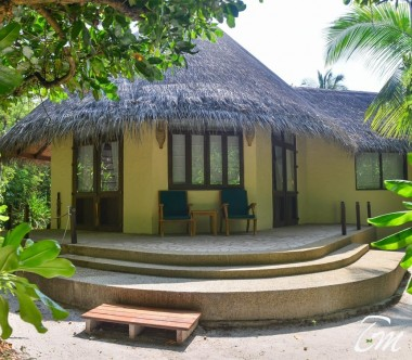 Coco Palm Dhuni Kolhu Maldives Sunset Beach Villa  Exterior