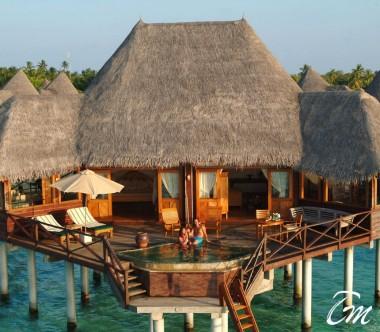 Coco Palm Dhuni Kolhu Maldives Sunset Lagoon Villa Exterior