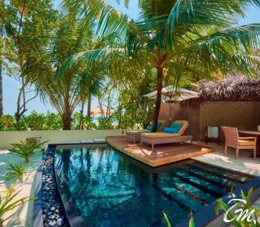 Constance Halaveli Maldives Beach Villas Exterior