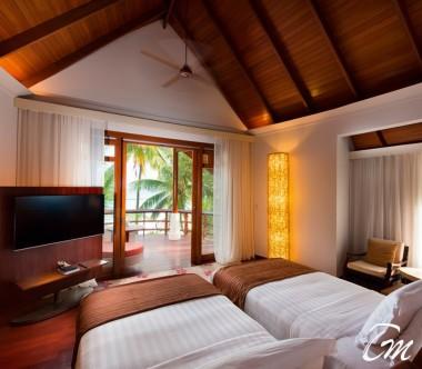 Constance Halaveli Maldives Double Storey Beach Villa Interior