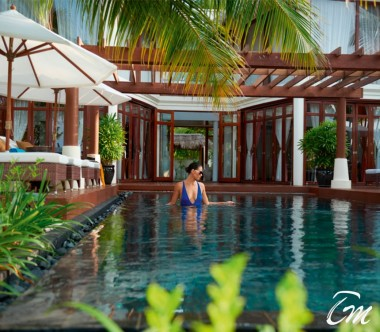 Constance Halaveli Maldives Presidential Villa Pool