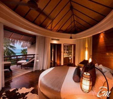Constance Halaveli Maldives Presidential Villa Master Bedroom