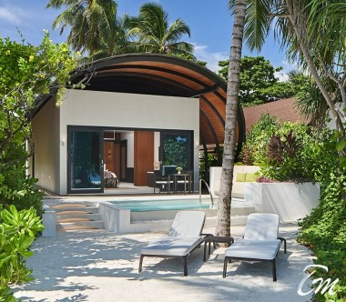 The Westin Maldives Miriandhoo Resort Deluxe Beach Villa Pool