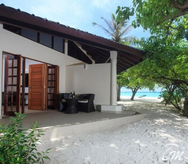 Embudu Village Maldives Resort Superior Beach Bungalow Exterior
