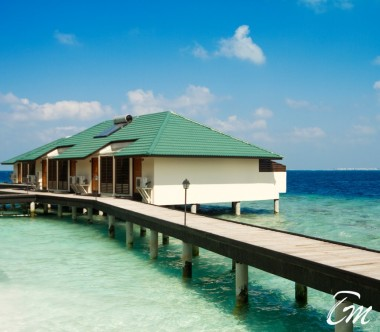 Embudu Village Maldives Resort Water Bungalow Exterior