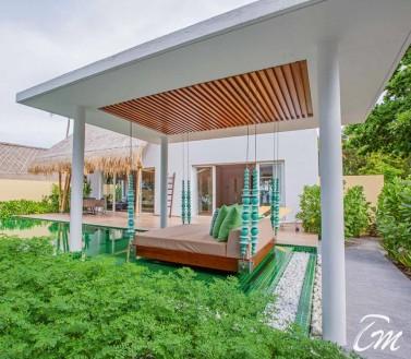 Superior Beach Villa with Pool - Emerald Maldives Resort And Spa
