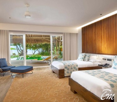 Family Beach Villa with Pool - Emerald  Resort Maldives