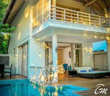 Amaya Kuda Rah Maldives Family Duplex Beach Villa with pool