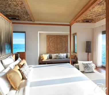 The Residence Luxury King Bedroom Exterior -  Vakkaru Maldives