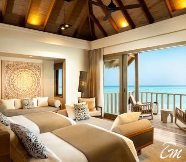 The Residence Luxury Twin Bedroom - Vakkaru Maldives