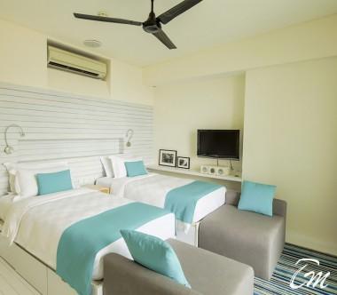 Holiday Inn Resort Kandooma Maldives Two Bedroom Family Beach House