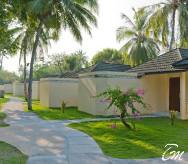 Holiday Island Resort And Spa Maldives Superior Beach Bungalows Entrance