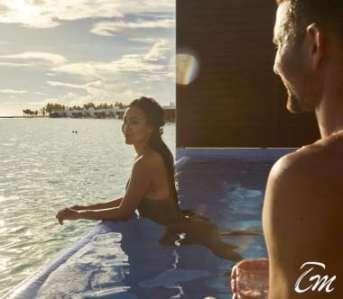 Hotel  RIU palace maldives - Overwater pool Ocean Face