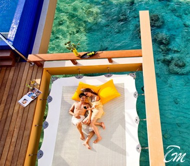 Angsana Velavaru Maldives InOcean Sunrise Pool Villa with Sala