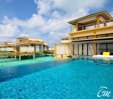 Angsana Velavaru Maldives InOcean Sunset Pool Villa