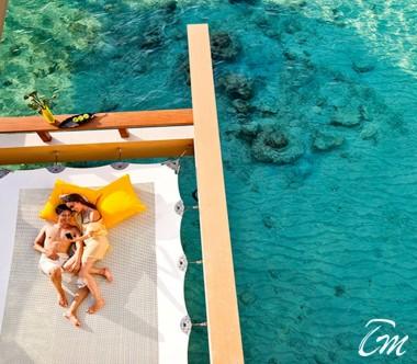 Angsana Velavaru Maldives In Ocean Sunset Pool Villa with Sala