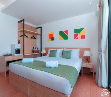 Ranthari Hotel and Spa Maldives ISLAND VIEW FAMILY ROOM WITH HALWAY