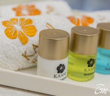Kaani Village And Spa Maafushi Deluxe Family Room Bathroom Amenities