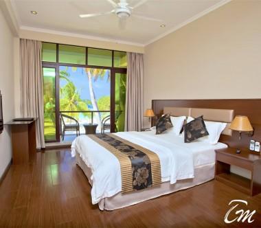 Kaani Beach Hotel Maafushi Deluxe Double Room Sea View With Balcony