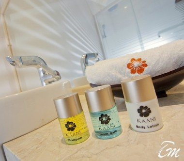 Kaani Beach Hotel Maafushi Deluxe Double Room City View With Balcony Bathroom Amenities