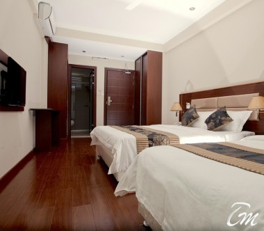 Kaani Beach Hotel Maafushi Deluxe Triple Room Sea View With Balcony Interior