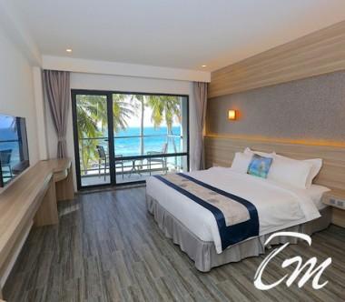 Kaani Grand Seaview Maafushi Deluxe Double Room Sea View with Balcony