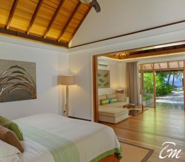 Kurumba Maldives Beach Villa with Jacuzzi  Bedroom