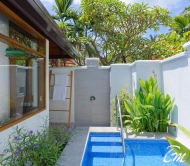 Kurumba Maldives Beach Villa with Jacuzzi Outdoor Shower