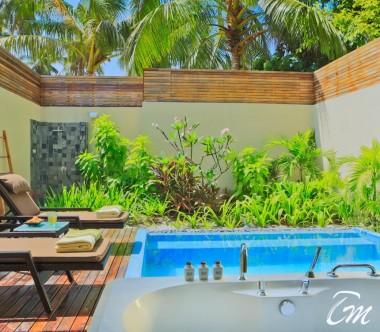 Kurumba Maldives Garden Pool Villa Outdoor Pool