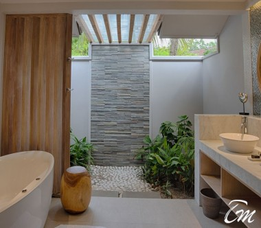 Beach Suite Bathroom - Lily Beach Resort and Spa Maldives