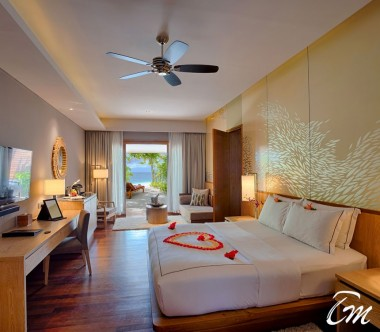 Beach Suite interior - Lily Beach Resort and Spa at Huvahendhoo